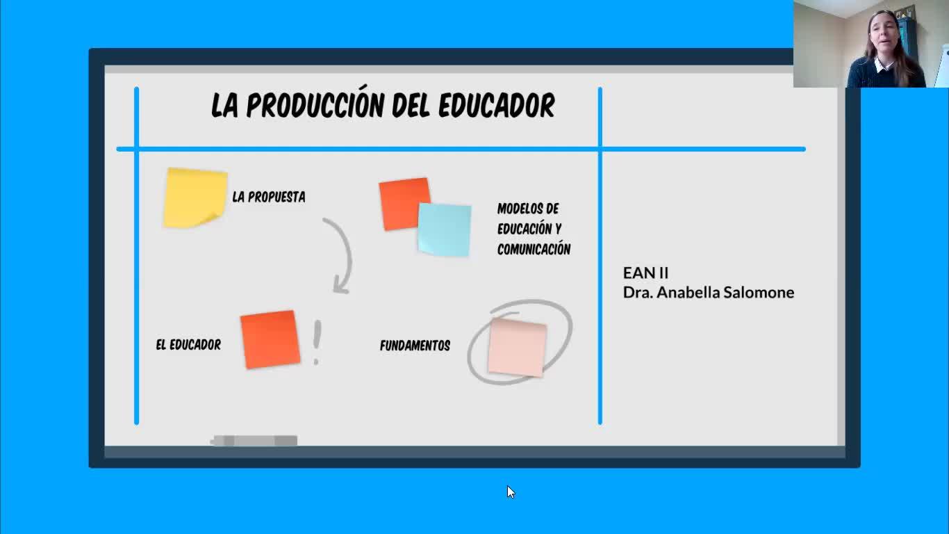EAN II/LA PROPUESTA DEL EDUCADOR 1°/SALOMONE