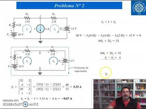 EA Ejemplo - Métodos resolción de circuitos