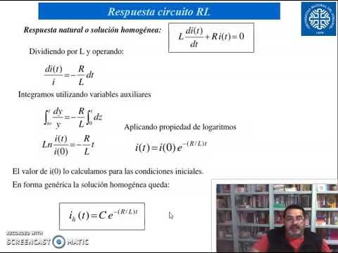 EA Respuesta dinámica circuitos RL