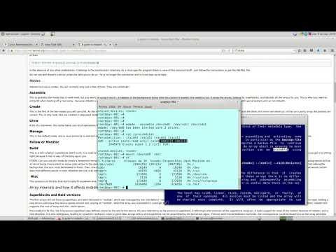 UNCOMA - TUASSL - ASA Almacenamiento 1.10: Ciclo vida md array