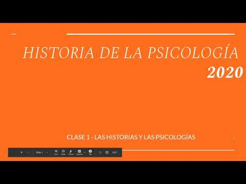 HISTOPSIC2020 CLASE 1A