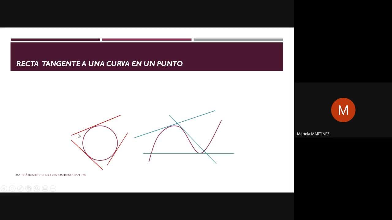 Clase Teórica- (08-09-20)- Derivadas - 1era. Parte