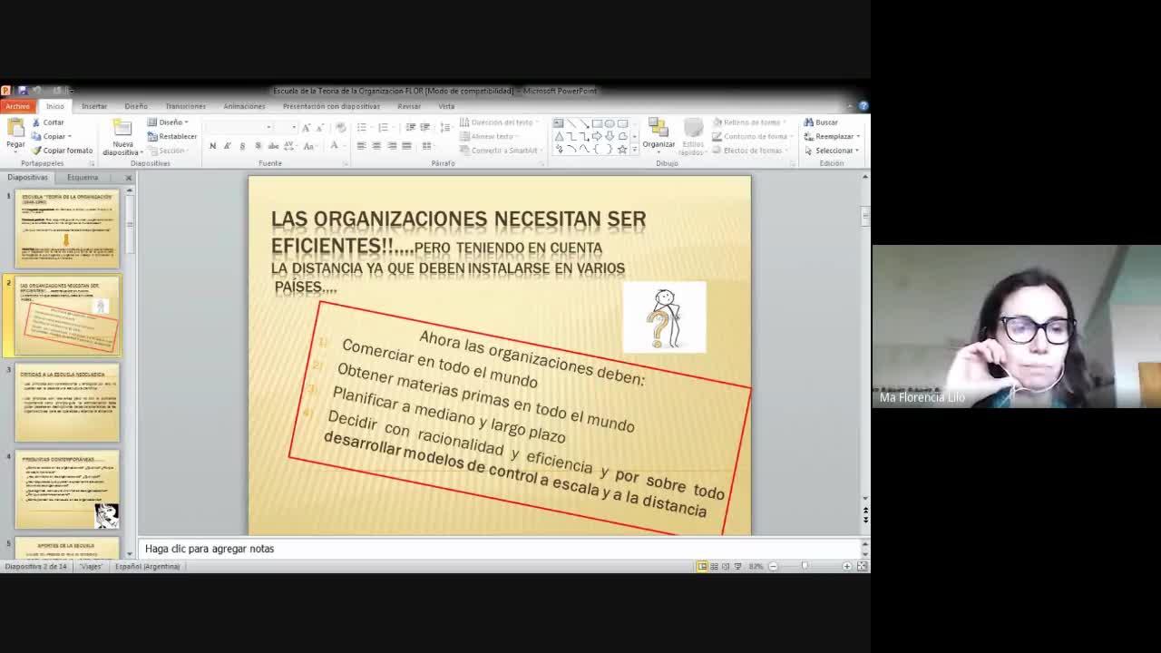 Clase Teoría de la organización 10-09-20