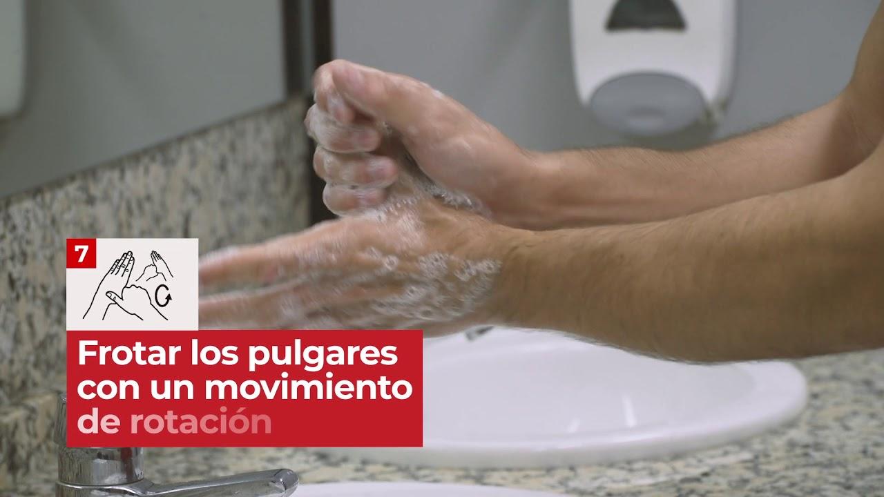 Cmo lavarte las manos correctamente frente al COVID19 | Cruz Roja RESPONDE
