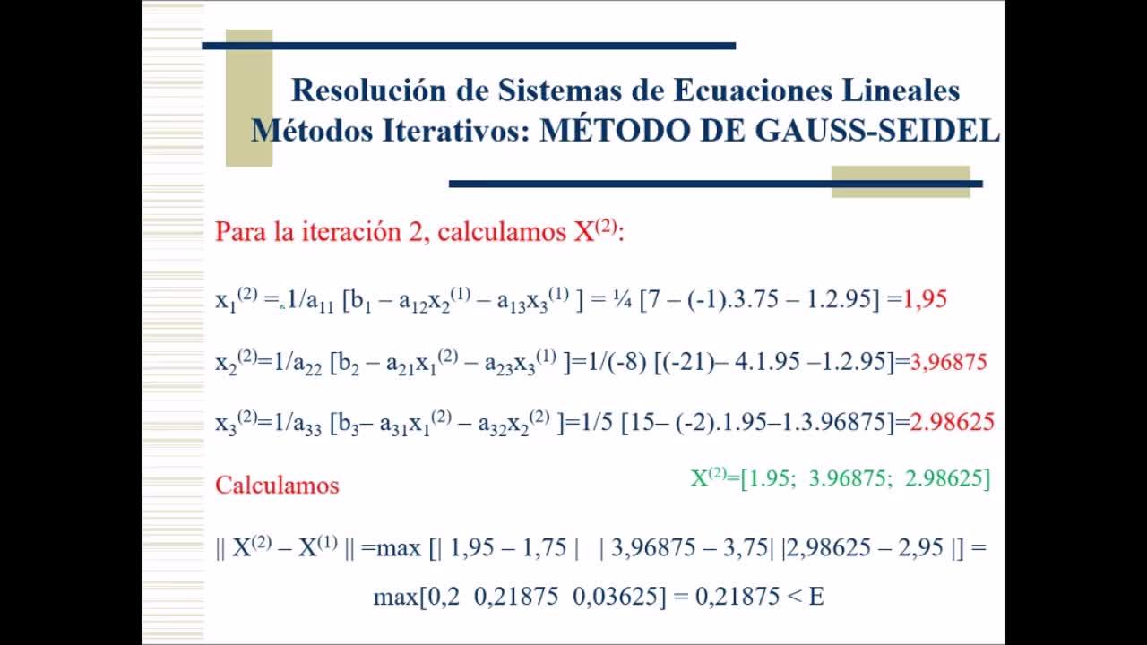 Video 11 Calculo Numerico