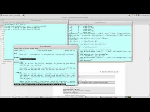 UNCOMA - TUASSL - ASA Almacenamiento 1.12:  LinuxMD monitoreo y fin