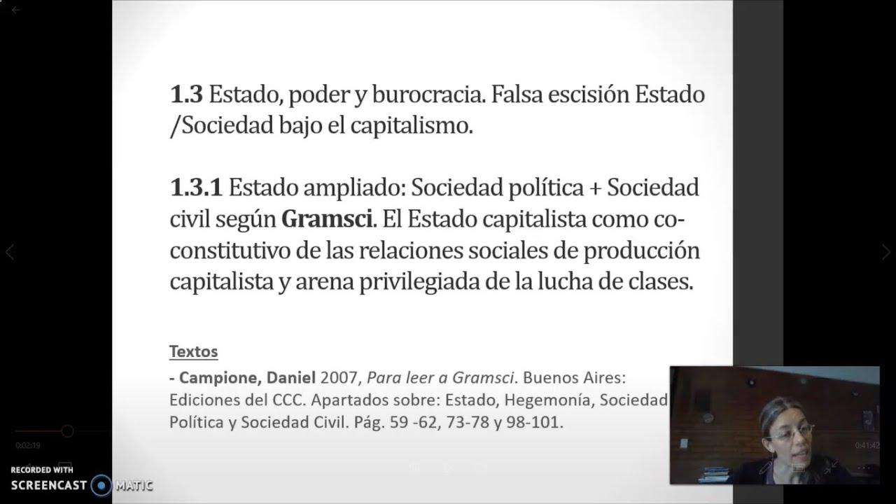 FADECS/Lic. Servicio Social/Sociología del Desarrollo (Módulo Nqn) Prof. Giaretto -Teórico N°4 -Gramsci-