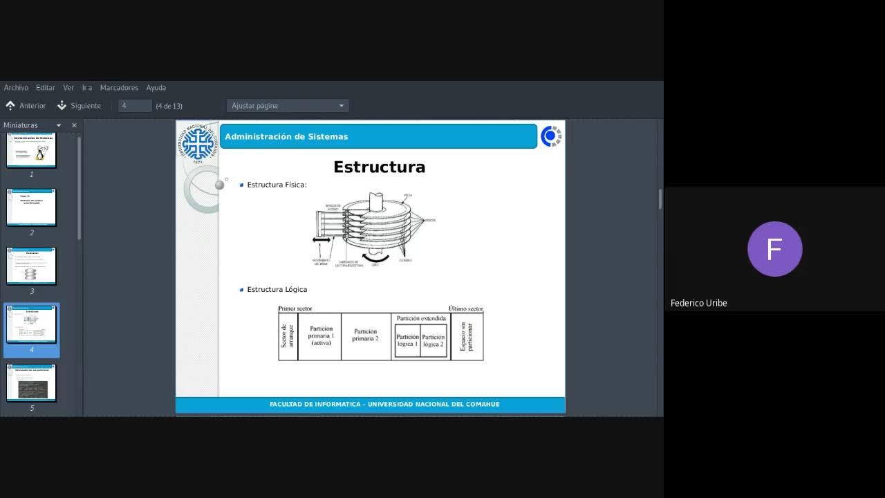 3 - Clase 16/09/2020 - Sistemas de archivo y Particionado