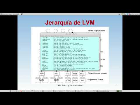 UNCOMA - TUASSL - ASA Almacenamiento 1.13:  LVM Introduccin
