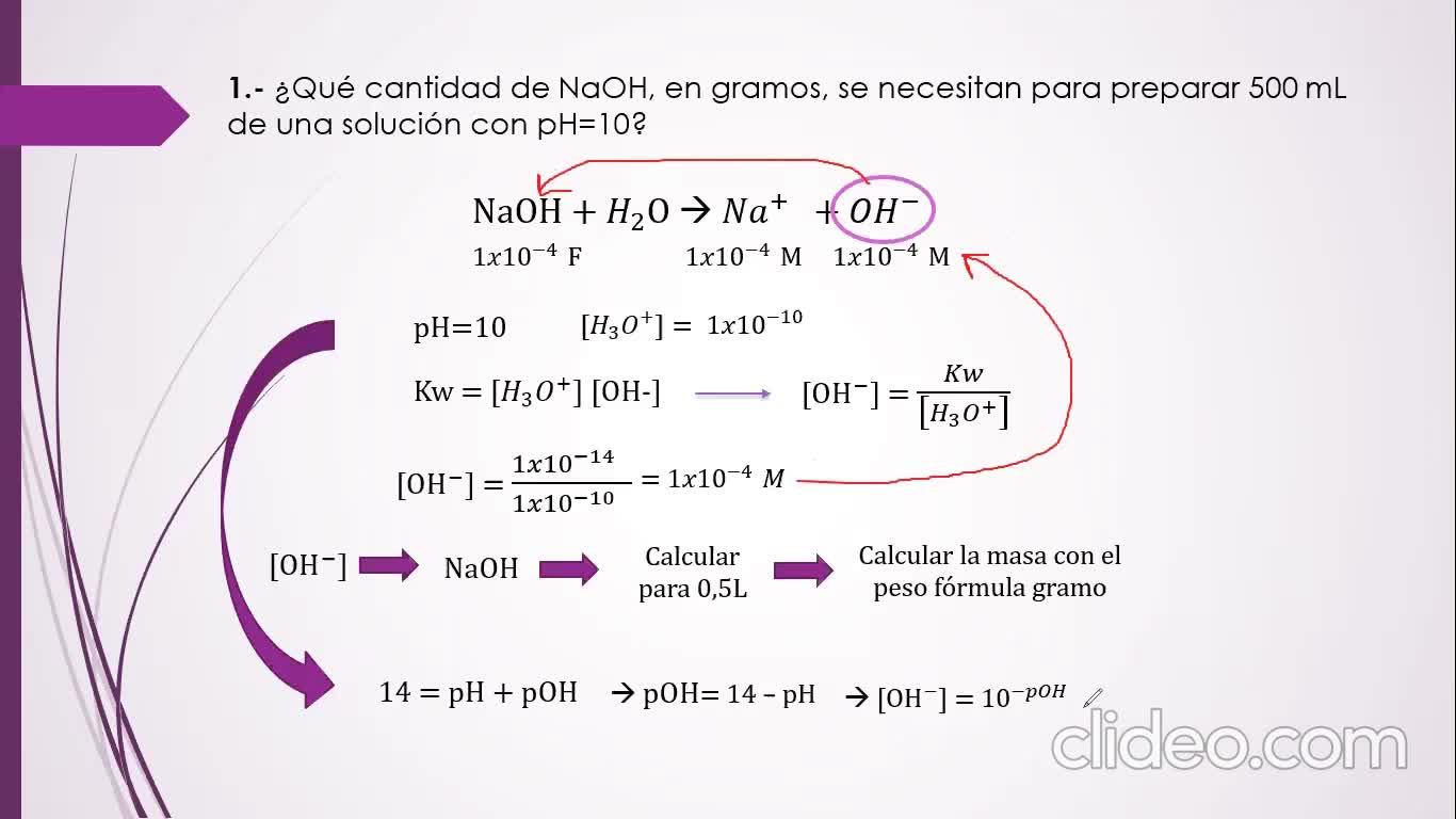 Ingeniería Agronómica-Quíica Analítica- Guía N°3 Equilibrio ácido-base- video N°5
