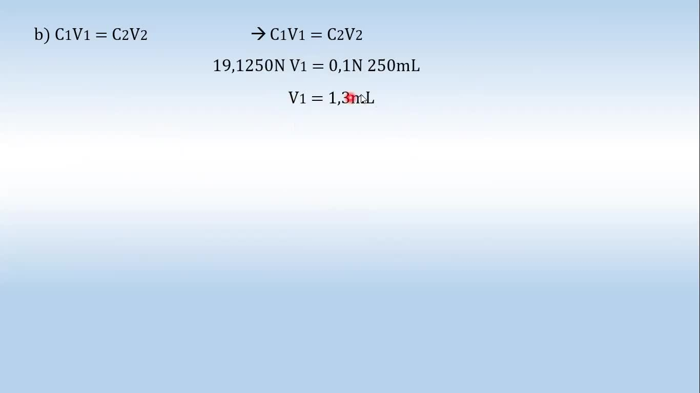 Ingeniería Agronómica- Química Analítica- Resolución cuestionario 1- Video N°6
