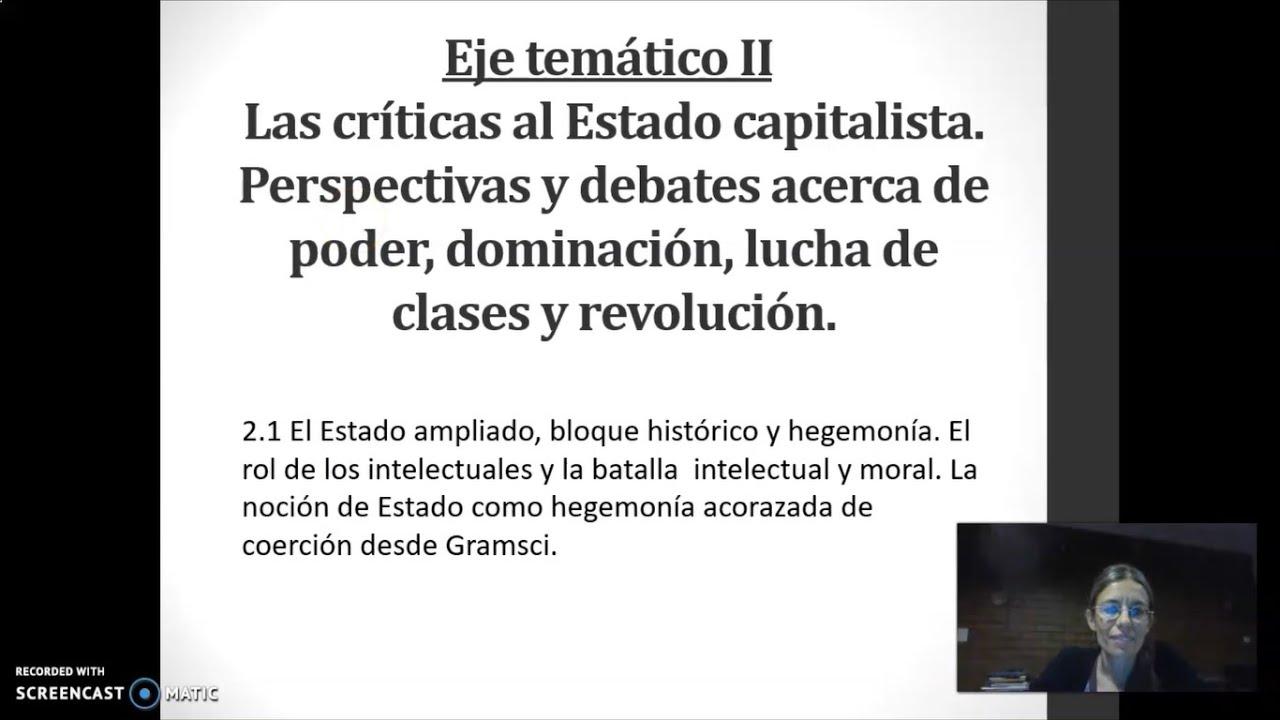 FADECS/Lic. Sociología/ Sociología Política I/ Prof. Giaretto -Teórico N° 5-