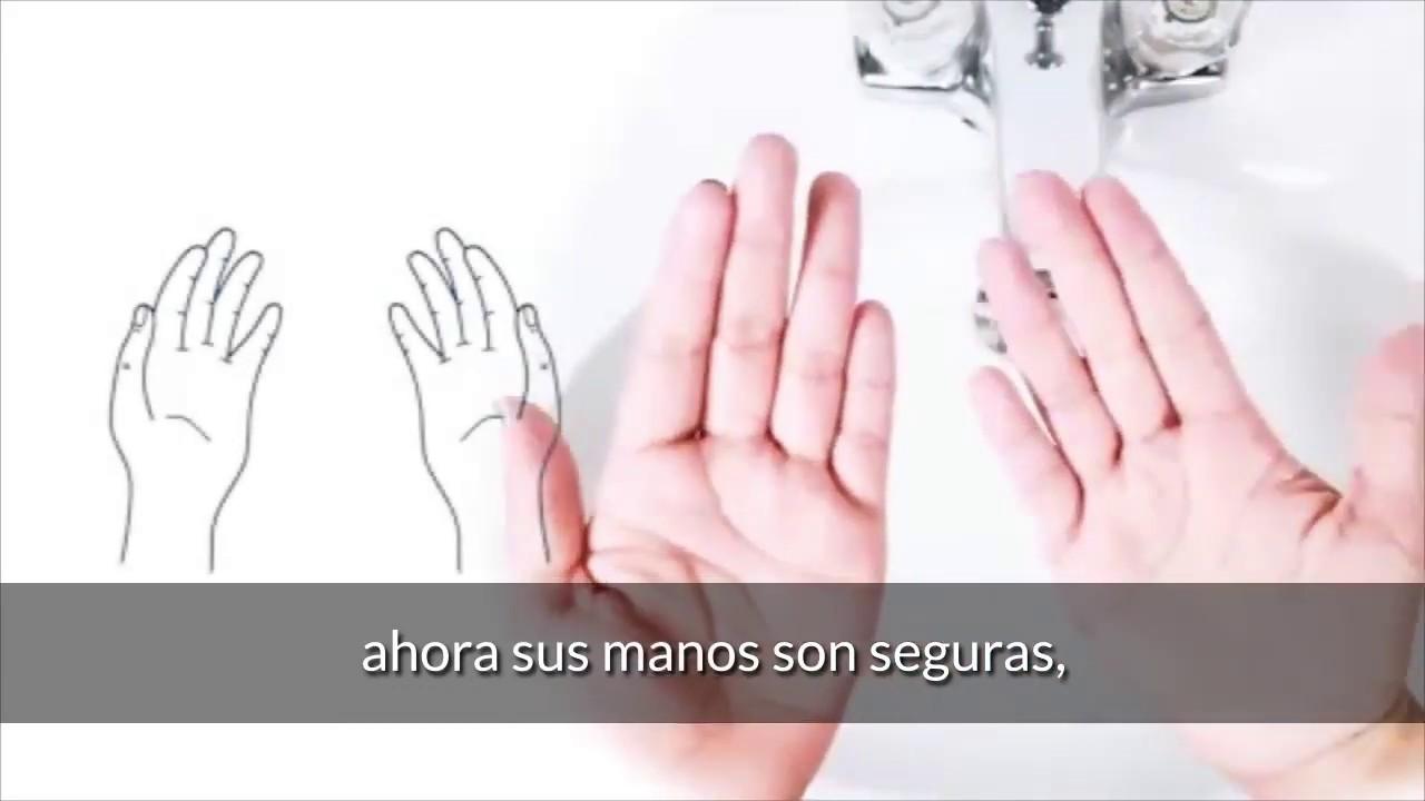 Cmo lavarse correctamente las manos   OMS