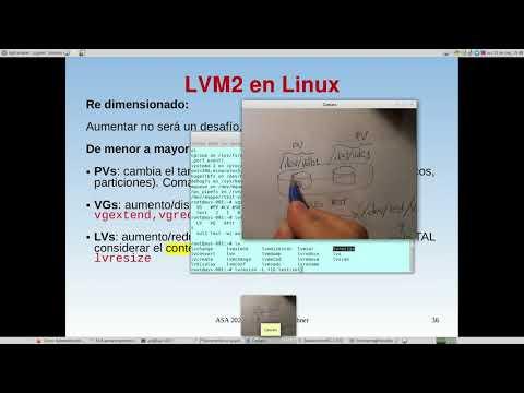 UNCOMA - TUASSL - ASA Almacenamiento 1.14:  LVM2  re-dimensin: extender