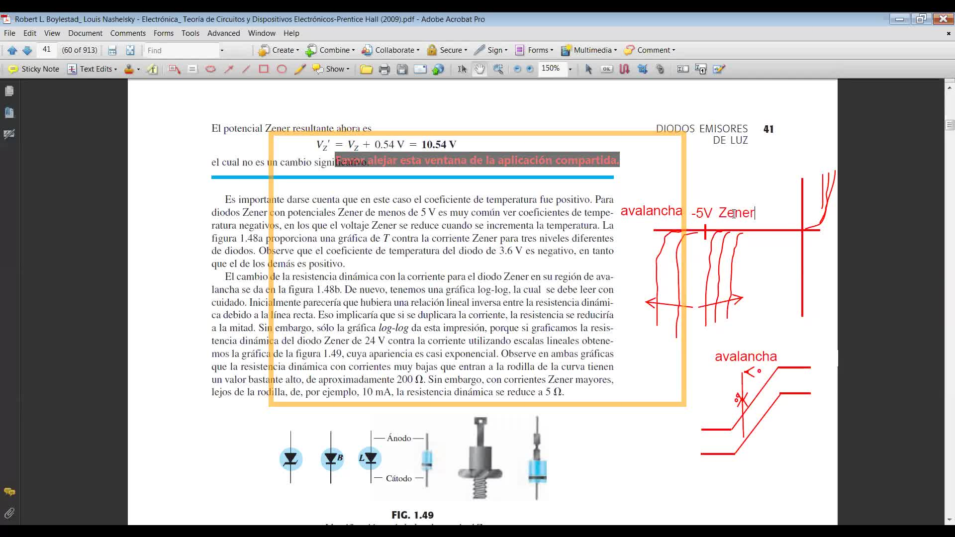 Electrónica I - Diodos, particularidades, mecanismos de ruptura
