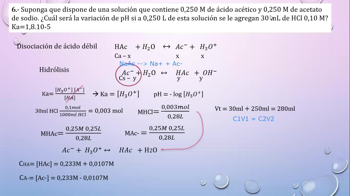 Ingeniería Agronómica- Química analítica- Resolución Guia 4 parte II- Video N°10