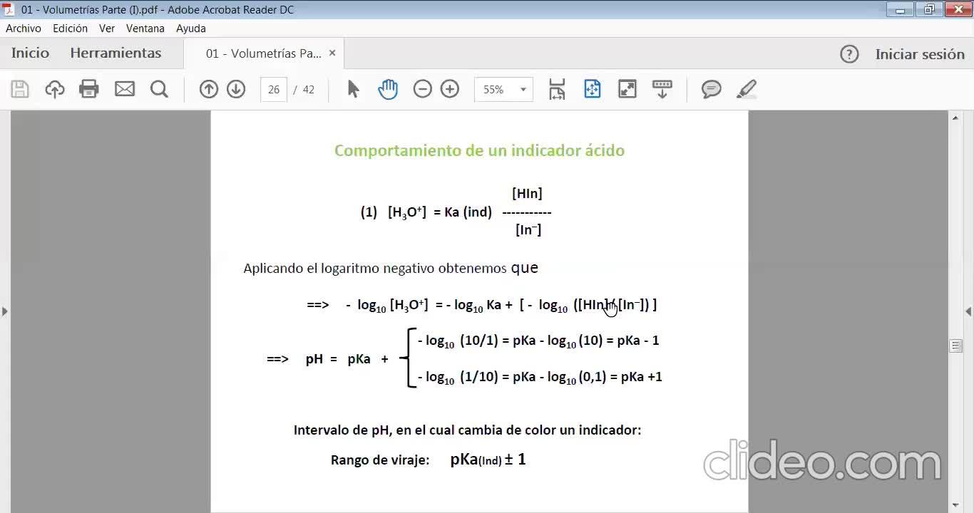 Ingeniería Agronómica- Química Analítica- Teoría volumetrías 2- video N°12