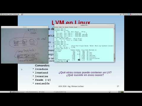 UNCOMA - TUASSL - ASA Almacenamiento 1.15:  LVM re-dimensin: reduccin