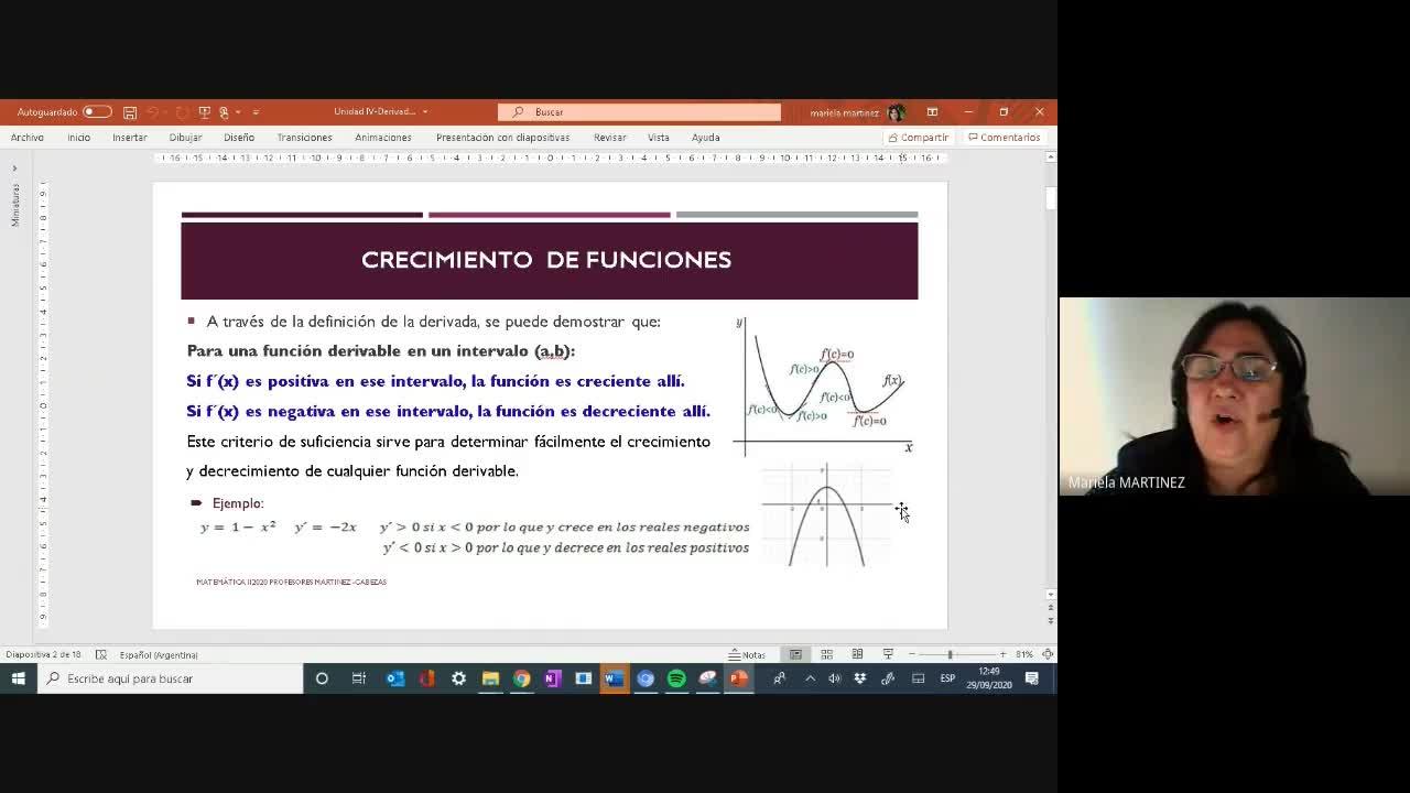 Clase Teórica 29-09-20