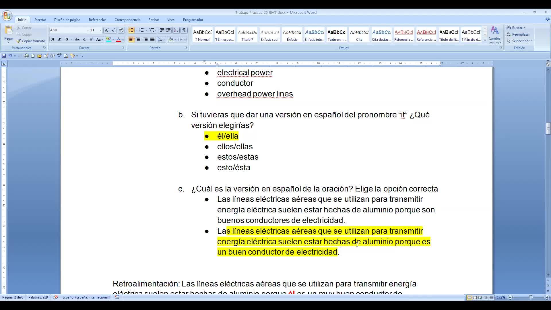 Inglés- Encuentro virtual (Turno Tarde) 30 de septiembre