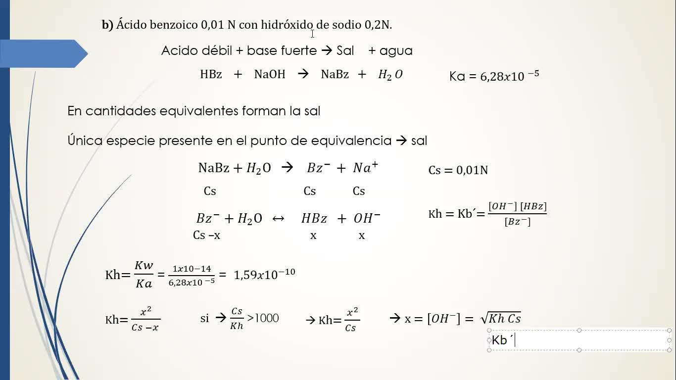 Ingeniería Agronómica- Química analítica- Resolución Guía 5 volumetría- video N°16
