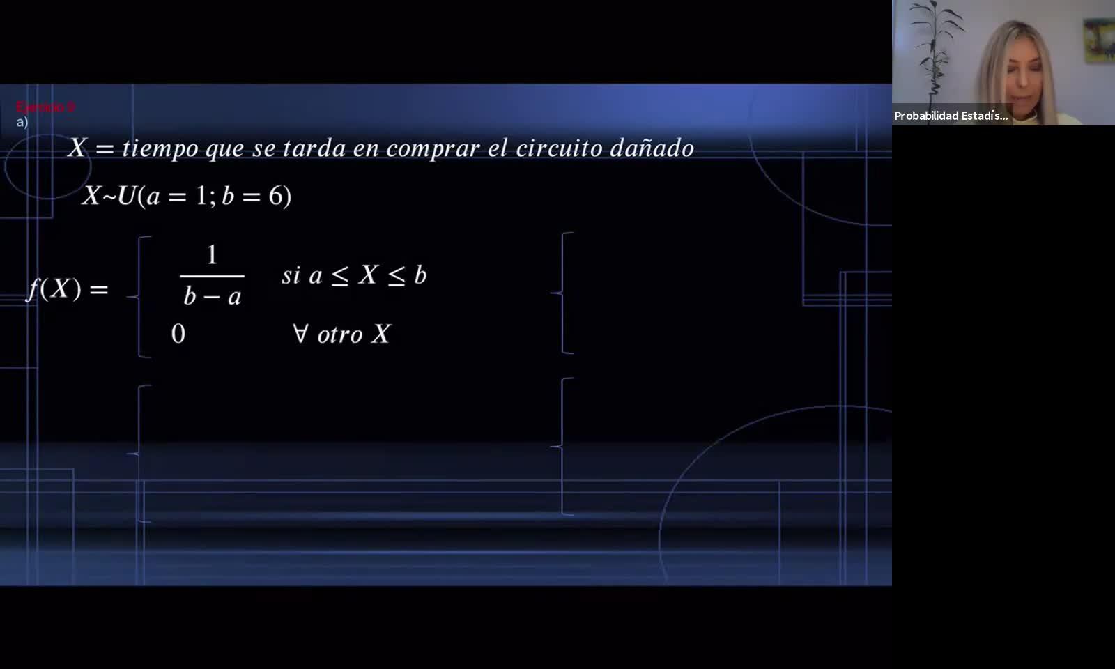 INGENIERÍA, Probabilidad y Estadística, TP 3 parte 2, Variable Aleatoria Continua, Práctica, Prof. Haique