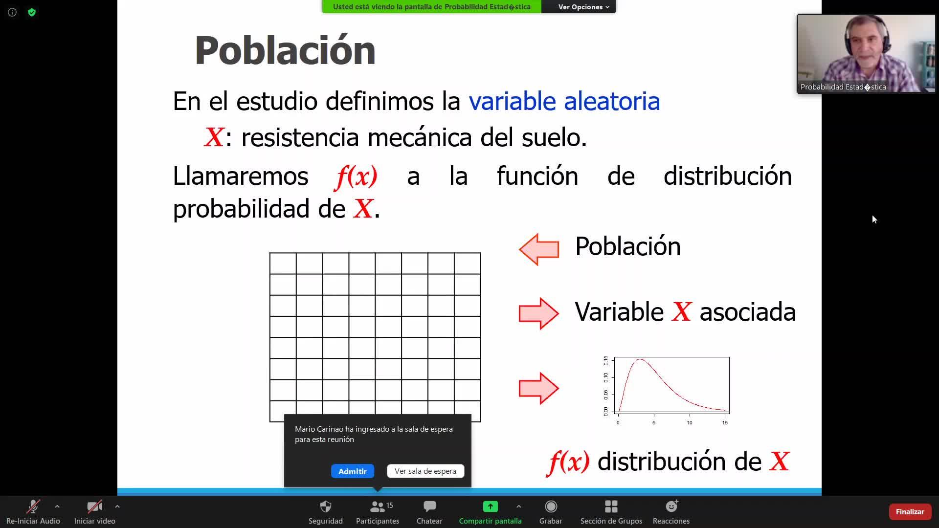 2020-10-01 Teoría de la estimación Pt.1