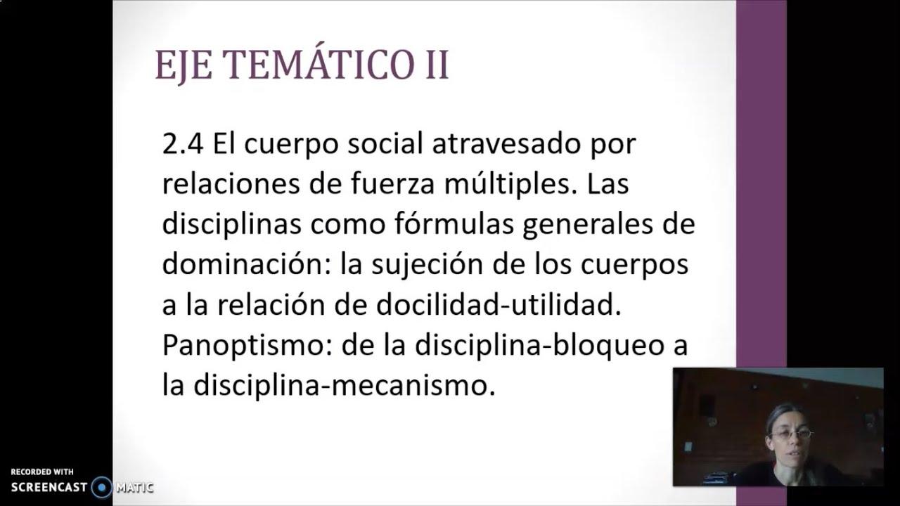 FADECS/ Lic. Sociología/Sociología Política I/ Prof. Giaretto -Teórico N°7-