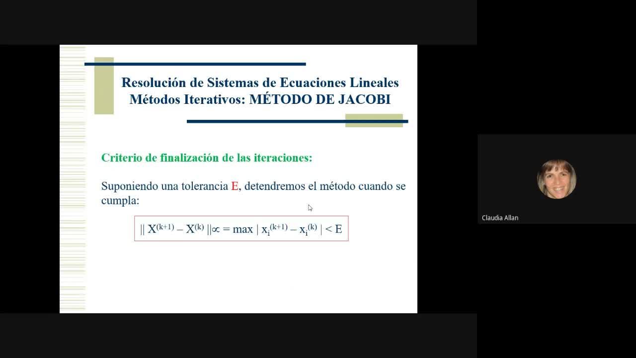 Clase Cálculo 5/10