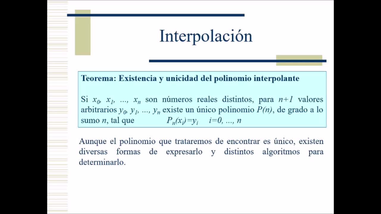 Video 12 - Cálculo Numérico