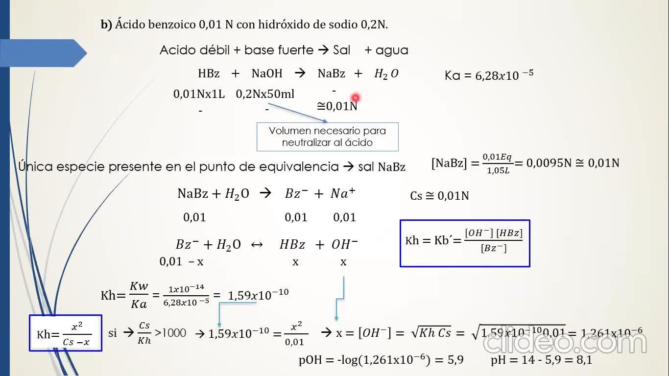 Ingeniería Agronómica- Química Analítica- Resolución Guía 5 completa- Video N°17