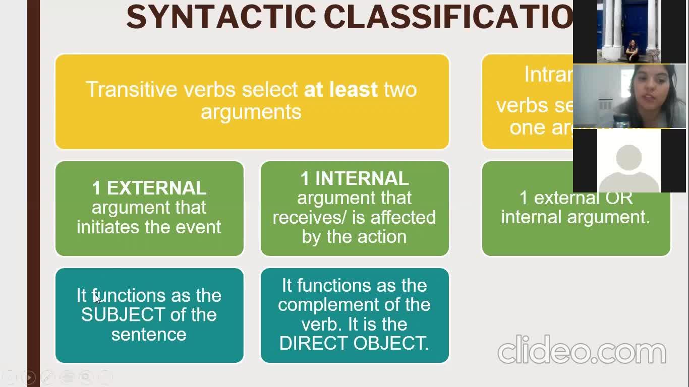Grammar (ILI) Lesson 5th October