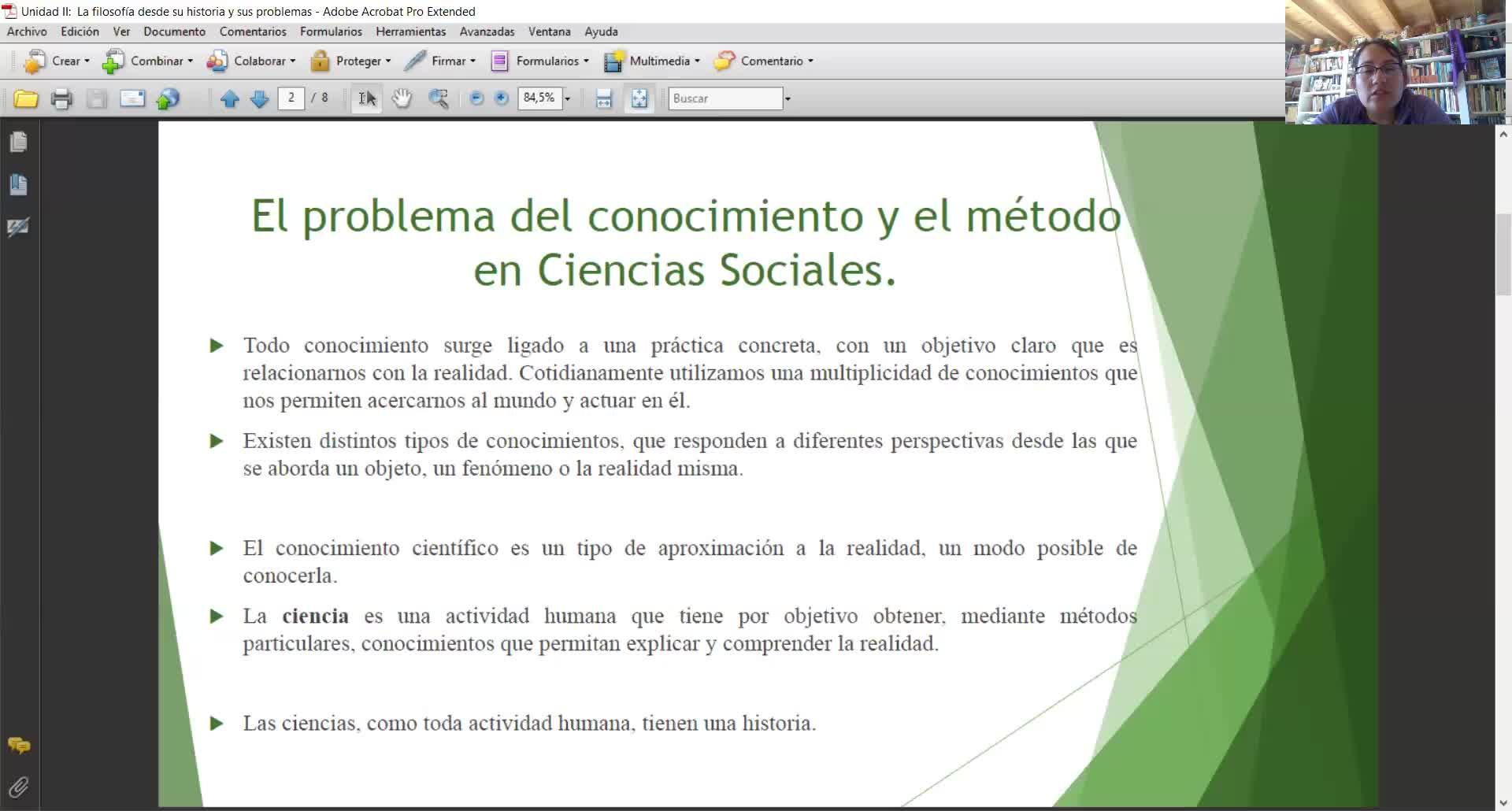 Filosofía y Ética-Unidad II-Conocimiento científico