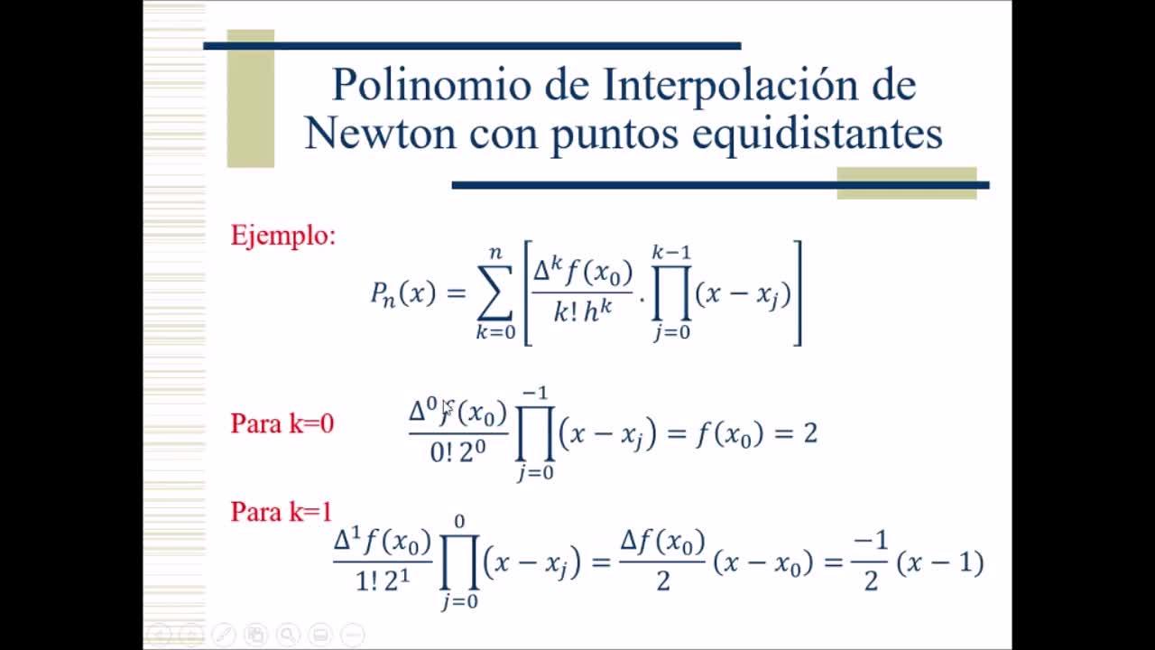 Video 13 - Cálculo Numérico