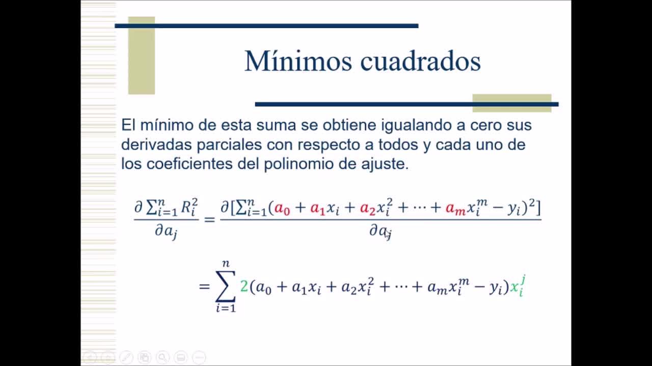 Video 13 Cálculo Numérico