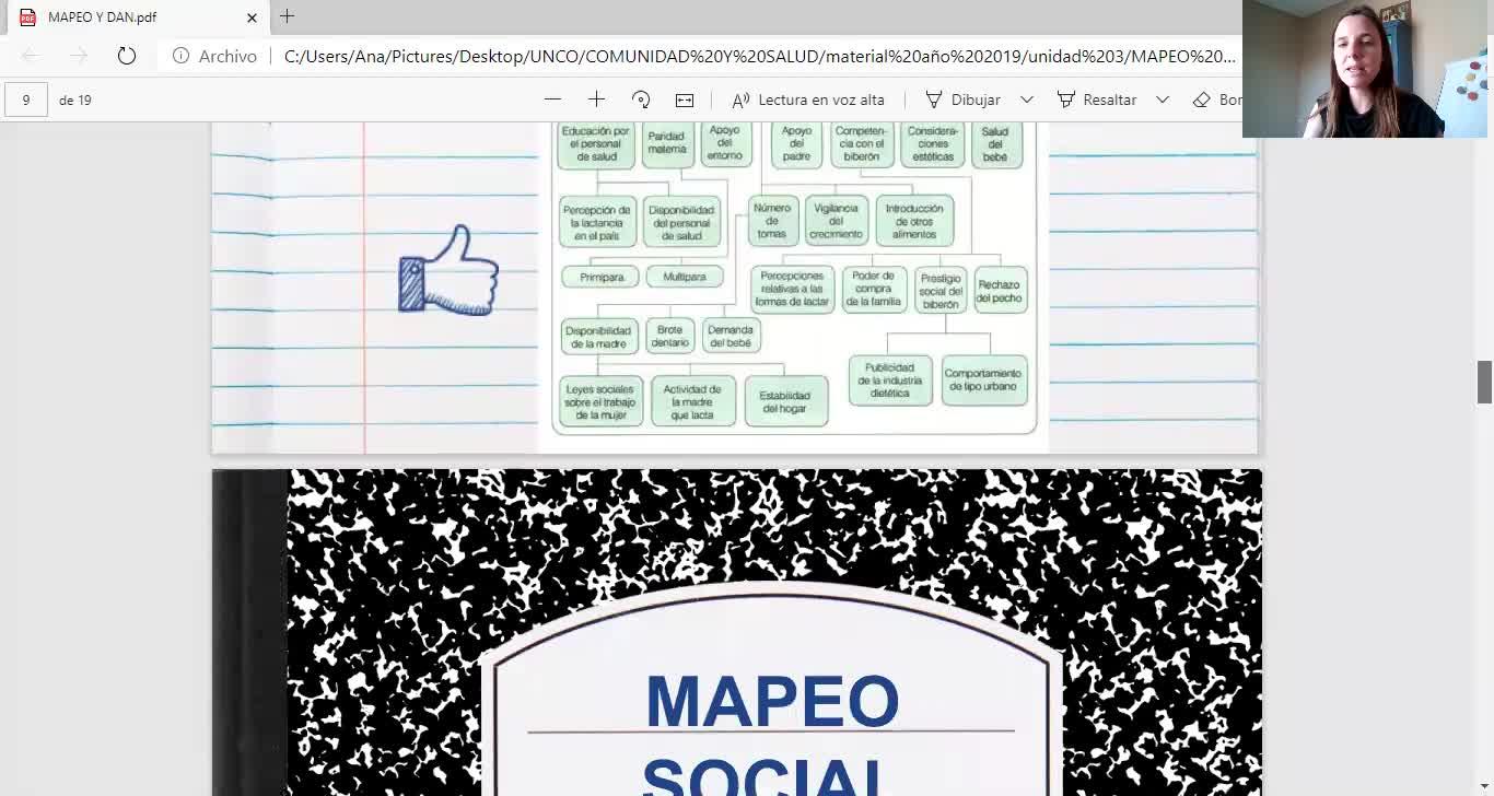 COMUNIDAD Y SALUD/DAN Y MAPEO/SALOMONE