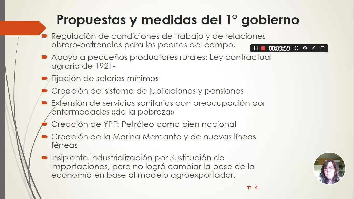 HEA - UIV - a-Gobiernos Radicales 1916-1930
