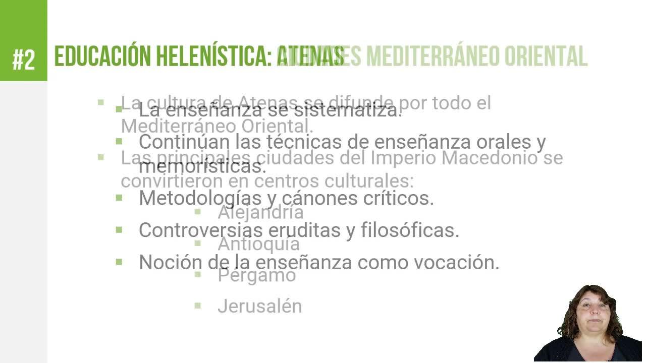 Educación Helenística - Atenas