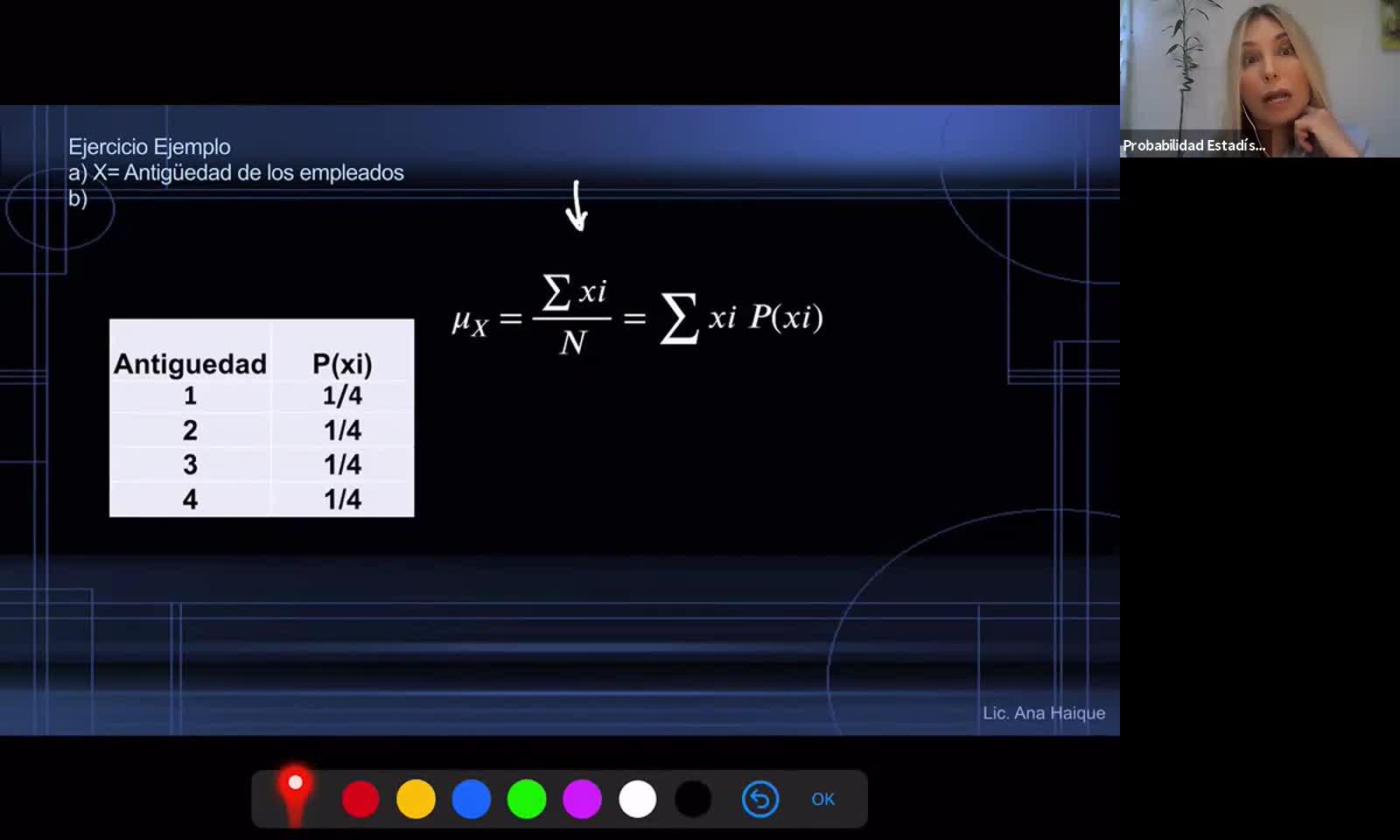 INGENIERÍA, Probabilidad y Estadística, TP 4 , Distribución en el Muestreo, Práctica, Prof. Haique