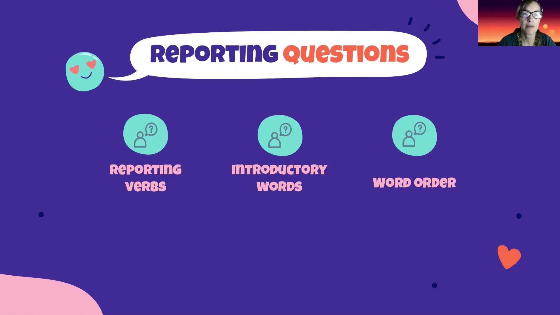 Introducción a la Lengua Inglesa- Language Module- Revision Reported Speech
