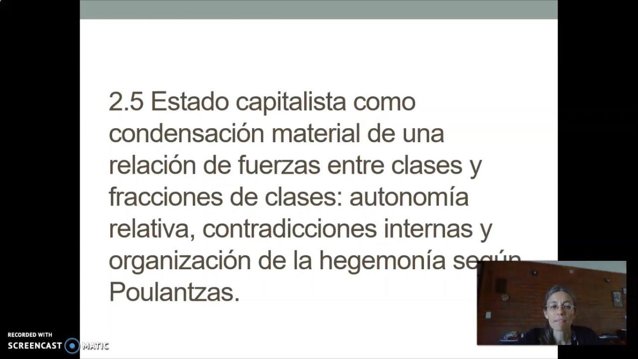 FADECS/Lic. Sociología/ Sociología Política I/ Prof. Giaretto/Teórico N° 8