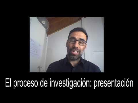 El proceso de investigación: presentación #4
