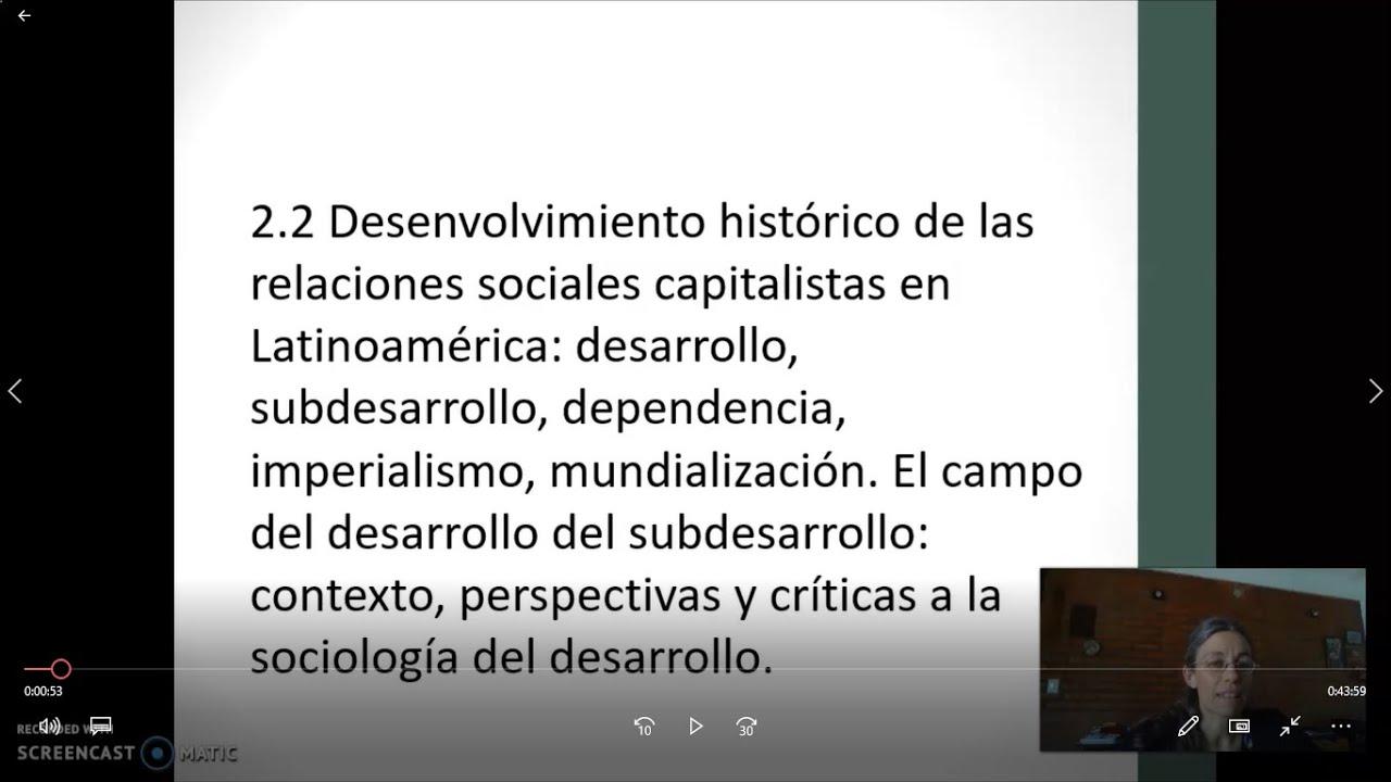 FADECS/Lic. Servicio Social/Sociología del Desarrollo -Mod. Nqn.- Prof. Giaretto -Teórico N° 7-