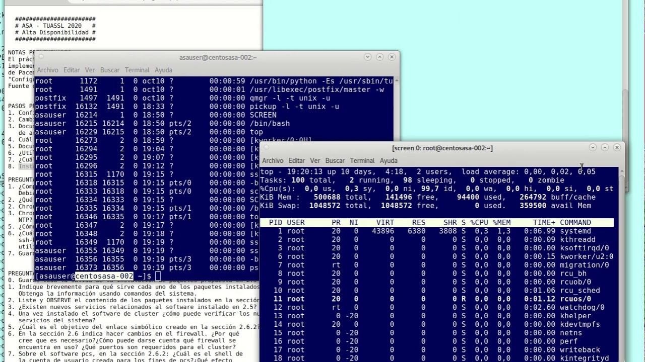 UNCOMA - TUASSL - ASA HA 1.5:  PRACTICA 3 comienzo lab