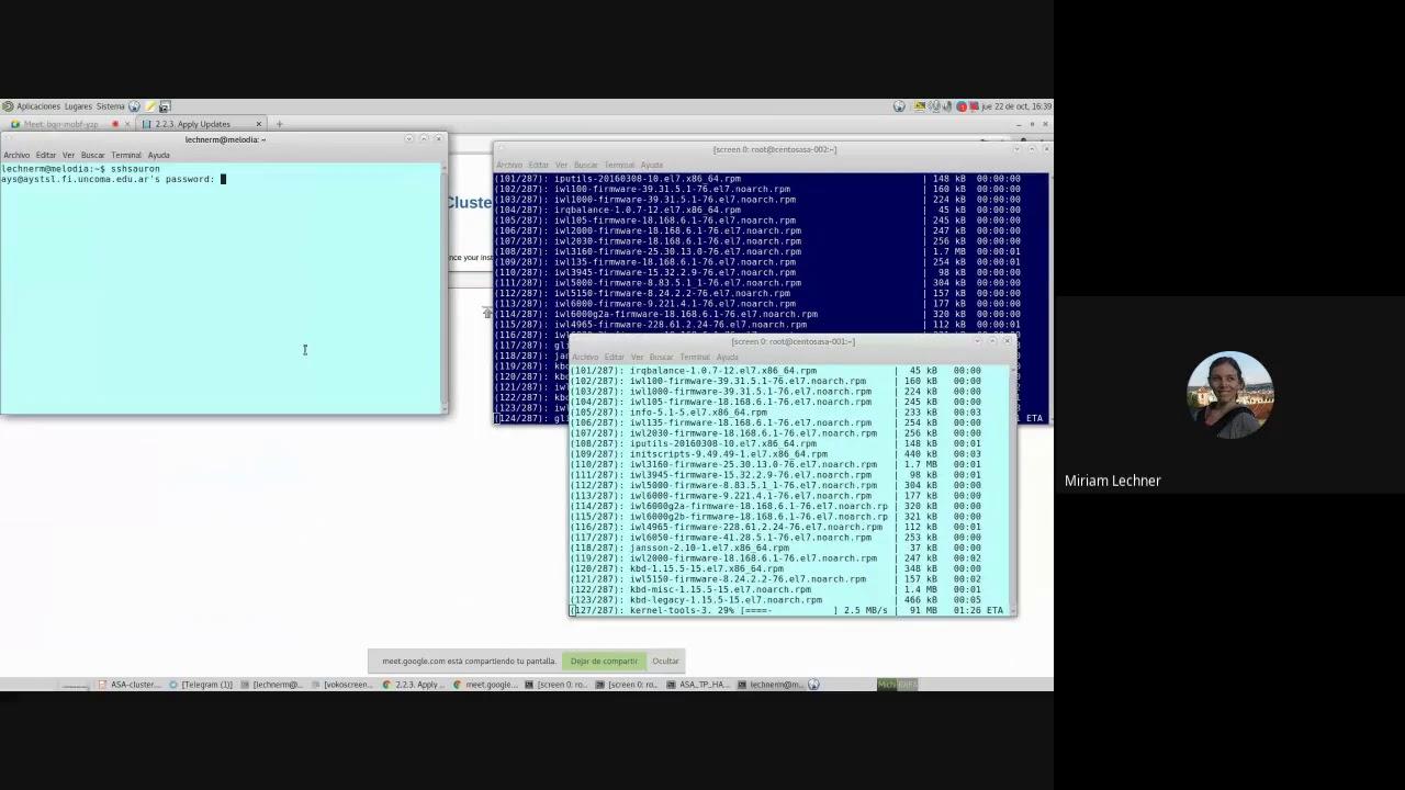 UNCOMA - TUASSL - ASA HA 1.6:  PRACTICA 4 instalando