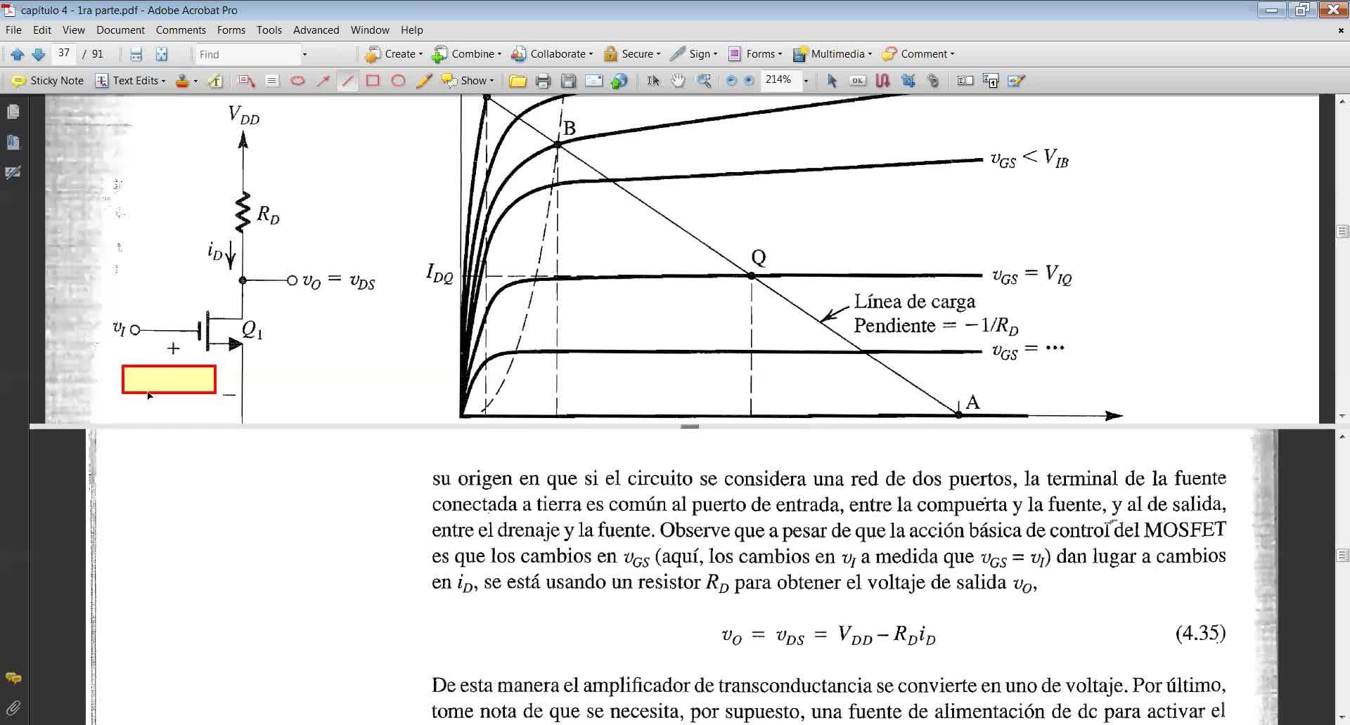 teoría MOSFET 2