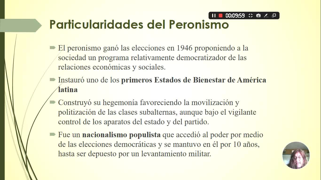 HEA - UVI - b - Peronismo, ideología, gobierno