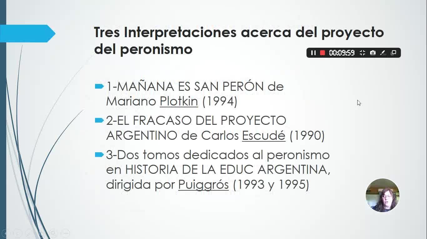 HEA - UVI - f - Peronismo, educación y política