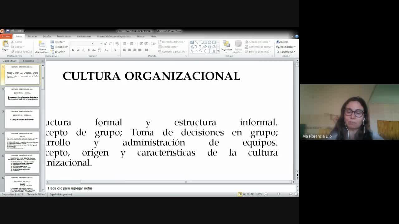 Clase Cultura organizacional 22-10-20