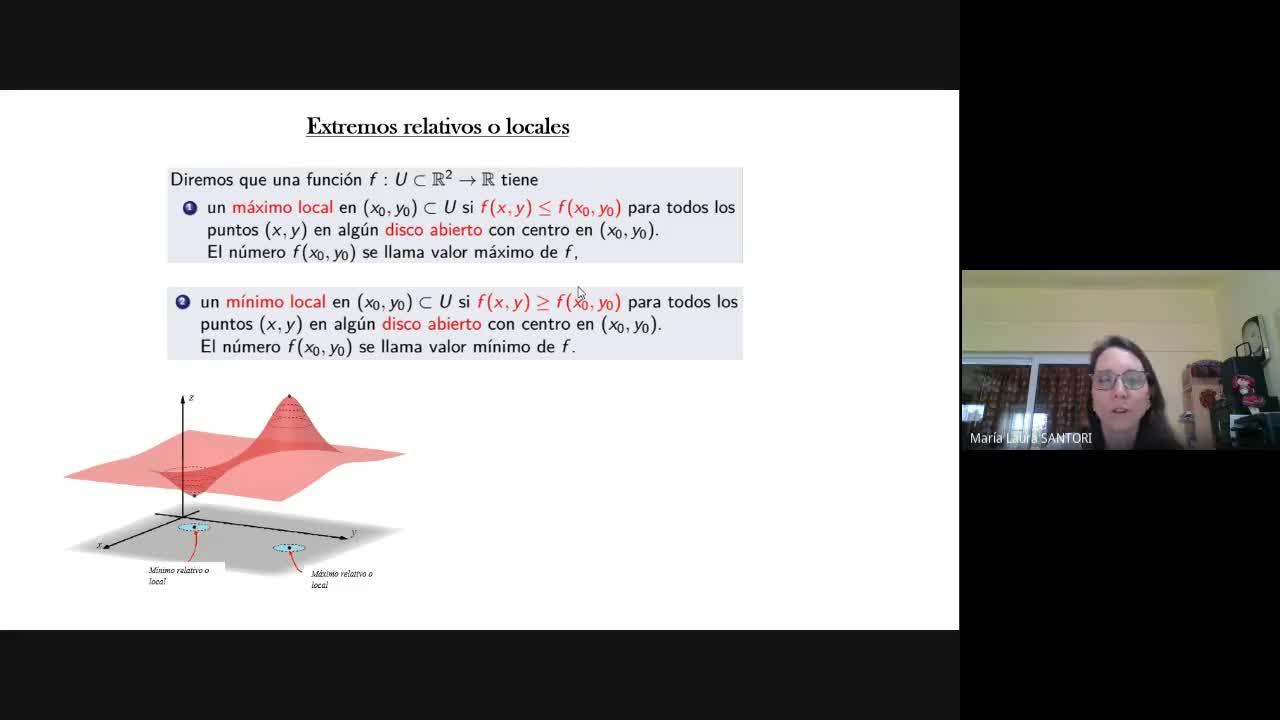 Prof. y Lic. en Matemática- Cálculo 3-AM3- Clase Lunes 26/10 (extremos)